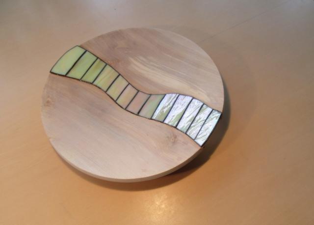 Glaskunst in samenwerk met RMwoodturning.nl