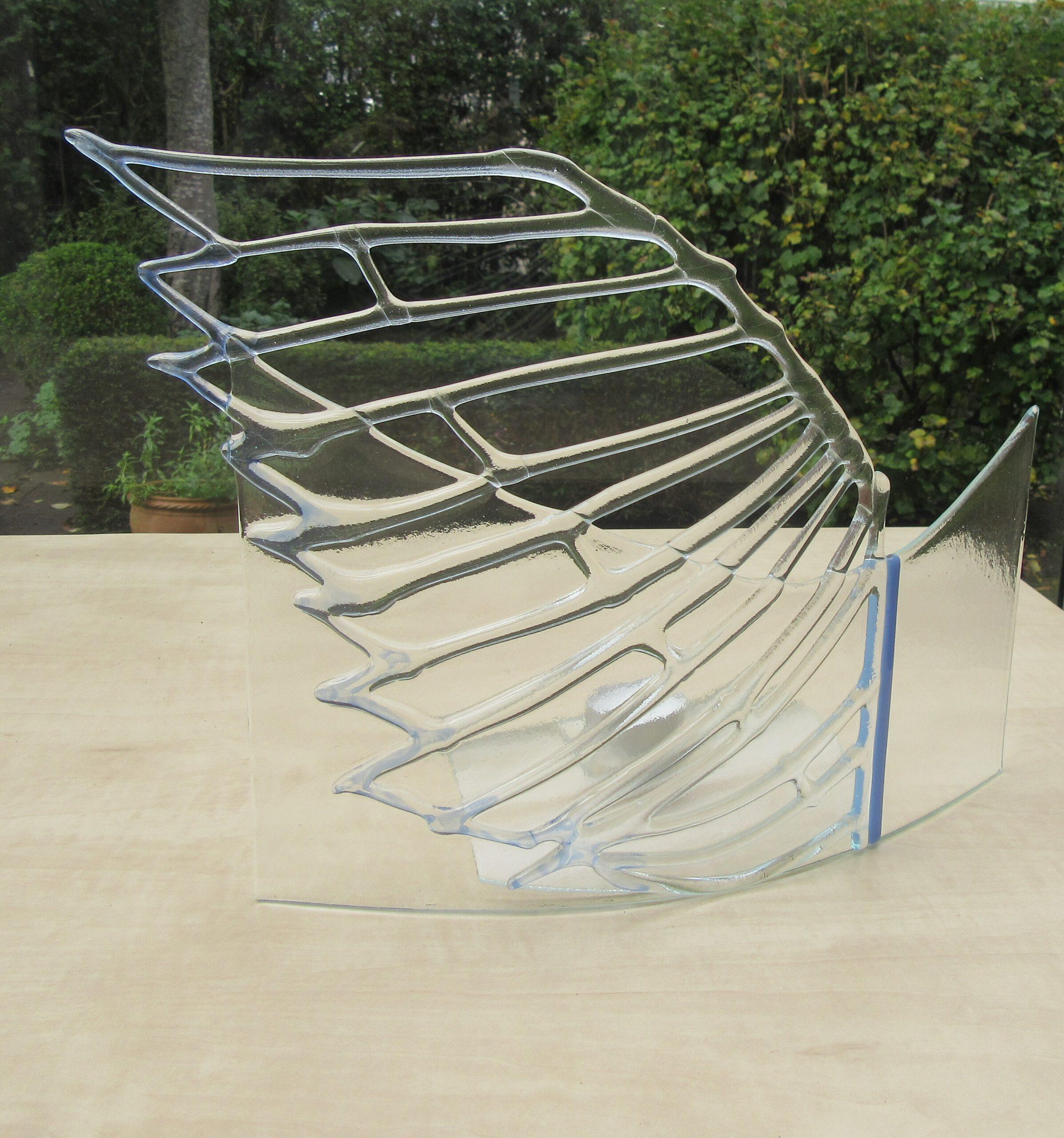 Glaskunstobject dmv glasfusing fusion gemaakt
