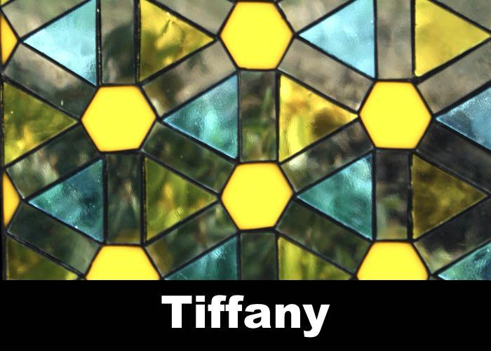 Tiffany glas een van de door ons gebruikte technieken voor ambachtelijke glaskunst