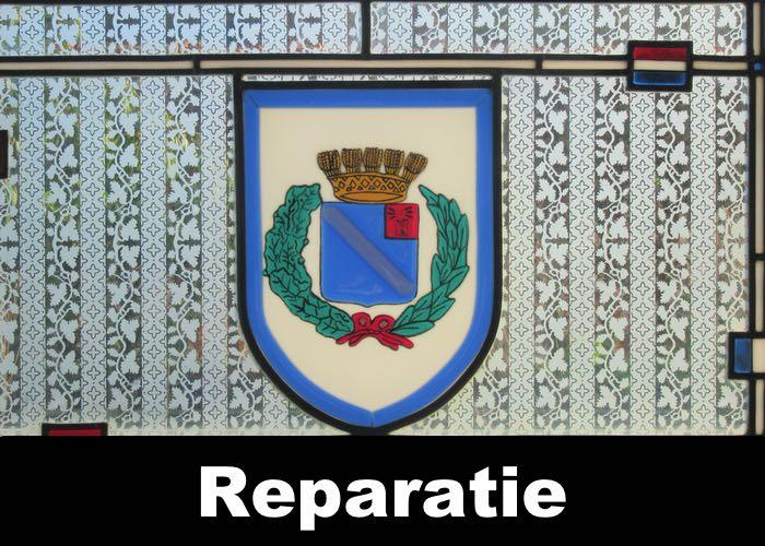 Reparatie en restauratie van glas-in-lood behoort tot de mogelijkheden