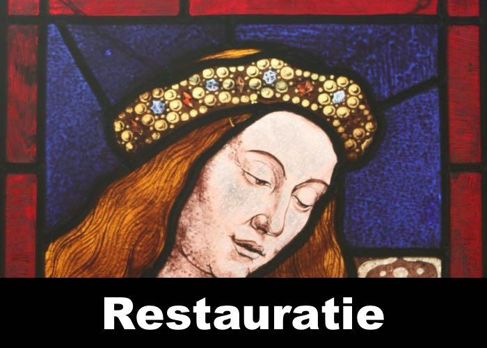 Restauratie glas in lood is een van onze specialisaties